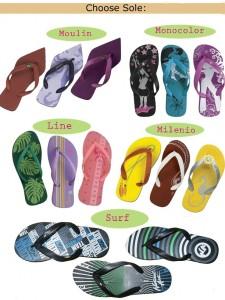 Custom Made Flip-Flops