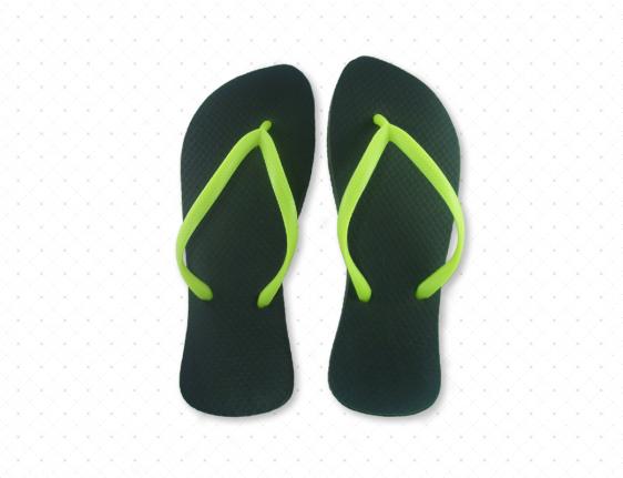 Lime Green Flip-Flop