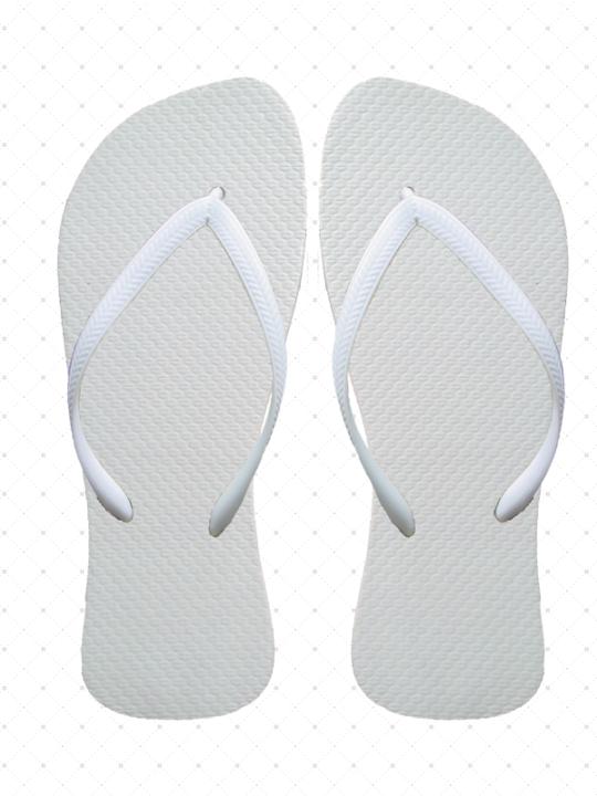 Bride White Flip-Flops
