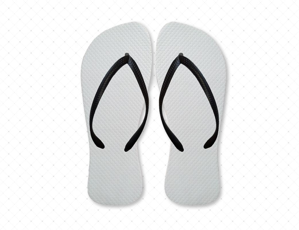Black & White Flip-Flops