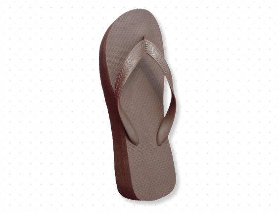 Chocolate Brown Flip-Flops