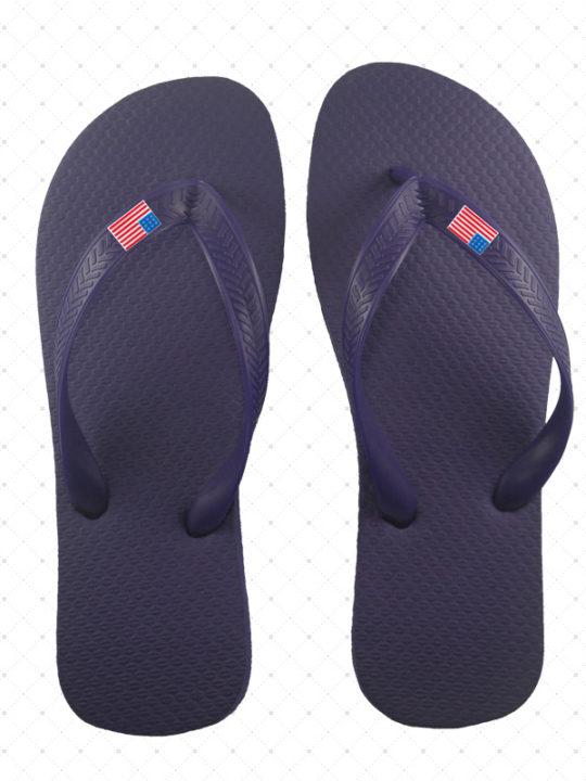 USA Black Flip-Flop