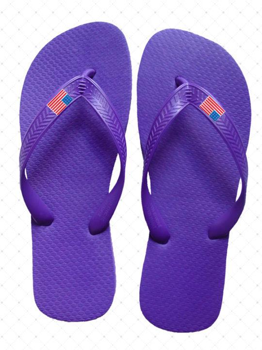 USA Purple Flip-Flop