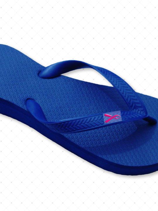 Pink Ribbon Sandals