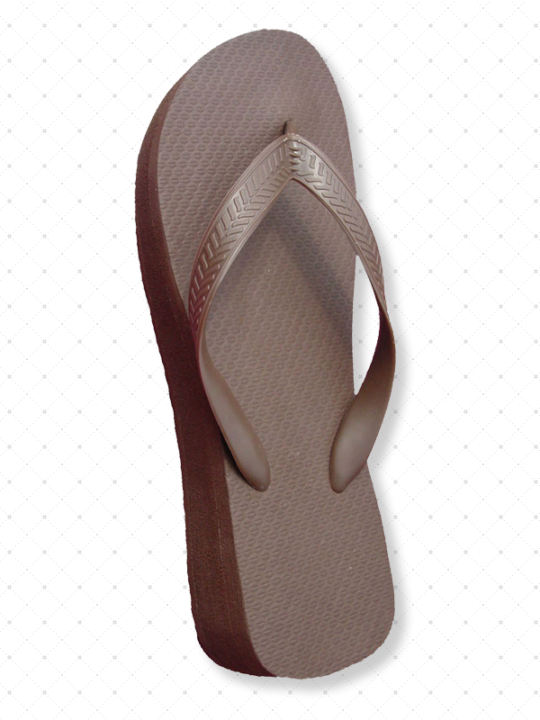 Chocolate Brown Flip-Flops