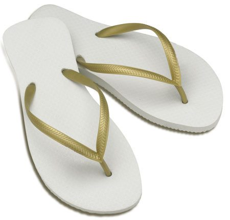 Bulk Wedding Flip-Flops | Low Price Flip-Flops | 100% Rubber