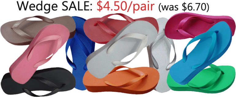 ad0d0b526 Wedge Flip-Flop Sale