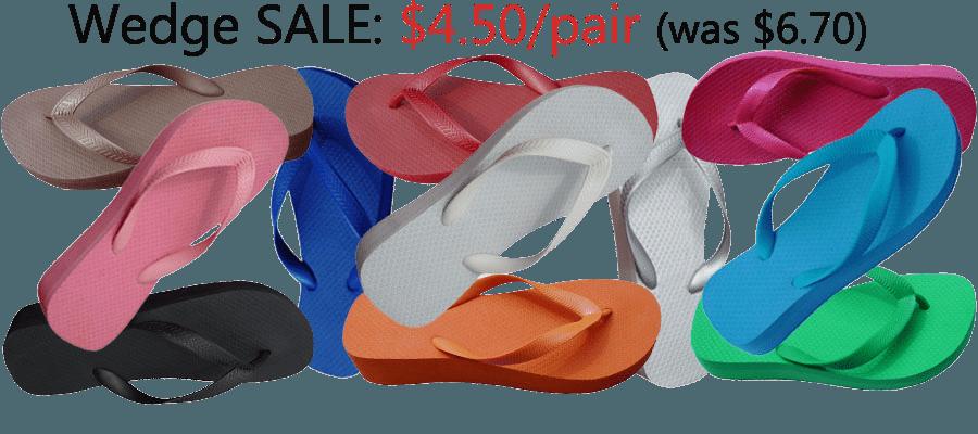 Wedge Bulk Flip-Flops | CARIRIS